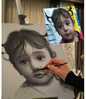 چرا با سیاه قلم ،طراحی چهره انجام دهیم؟