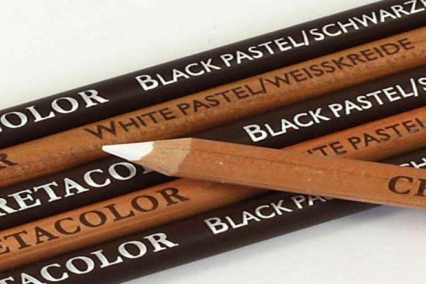 تفاوت های مداد کنته و مداد زغالی