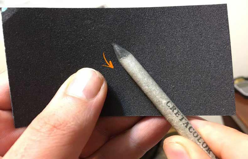 تفاوت محو کن و تورتیلون در سیاه قلم