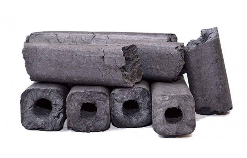 اشکال و برند های مختلف زغال