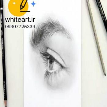 تفاوت طراحی با مداد و طراحی با سیاه قلم