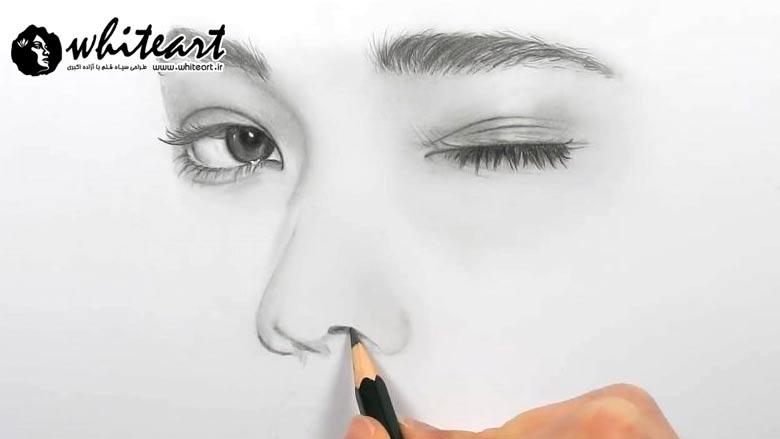 چگونه می توان چهره نقاشی شده را واقعی جلوه داد؟