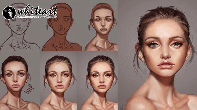 برای آموزش طراحی چهره از کجا شروع کنیم؟