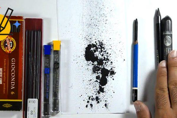 تفاوت سیاه قلم و طراحی چهره با مداد