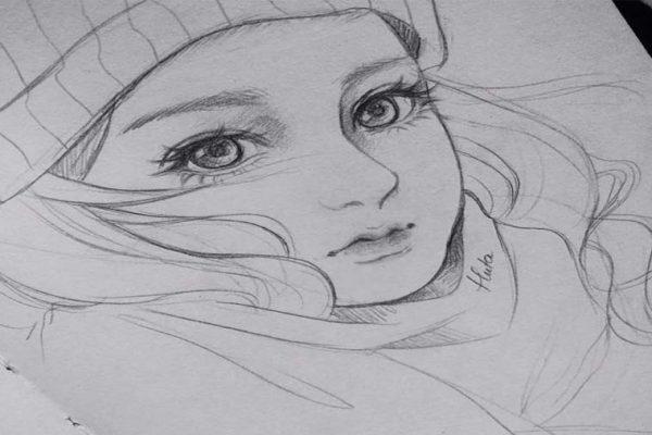 جذابیت نقاشی سیاه قلم